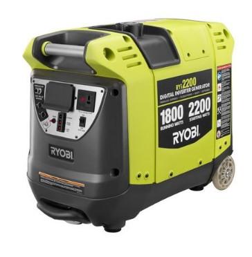 Recenzija za Ryobi 2200 Inverter Generator