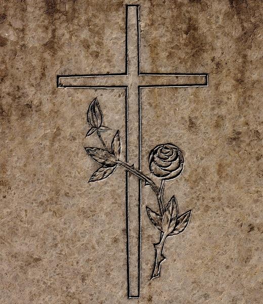 Obrada kamena - nagrobni spomenik