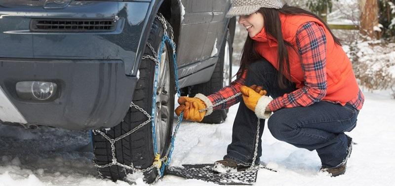 Automobilski lanci za snijeg moraju odgovarati veličini i širini vaših guma
